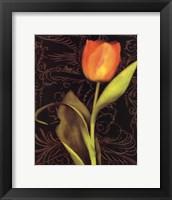 Framed Tulip Manuscript I