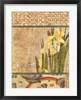 Framed Canteiro De Flores II