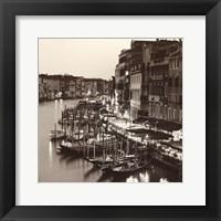 Framed Ponte Di Rialto