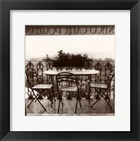La Antico Caffe Framed Print