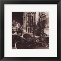 Cafe Avignon Framed Print