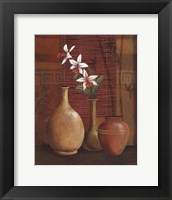Framed Asian Arrangement I