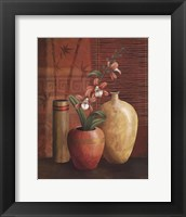 Asian Arrangement II Framed Print