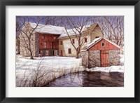 Framed Old Spring House