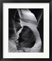 Framed Slot Canyon Swirls I