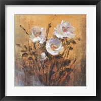 Framed Floral Spray One