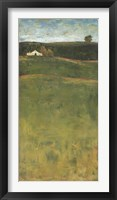 Lay Of The Land II Framed Print