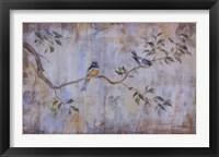 Framed Les Oiseaux