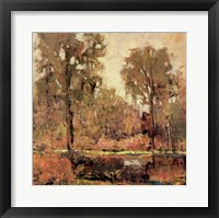 Framed Autumn Scene I