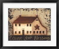 Framed Count Your Saltbox Blessings