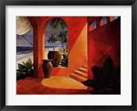 Framed Cabana I