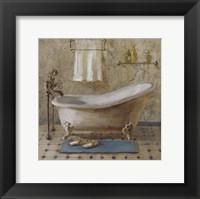 Victorian Bath III Framed Print