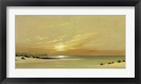 Framed Distant Shores II