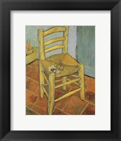 Framed Van Gogh's Chair and Pipe, c.1888