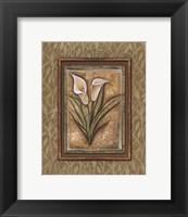 Peaceful Flowers IV - Mini Framed Print