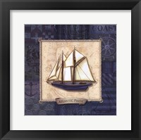 Sailing II Framed Print