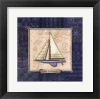 Sailing IV Framed Print