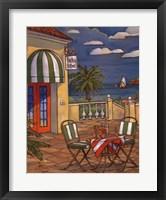 Bistro St Emil Framed Print