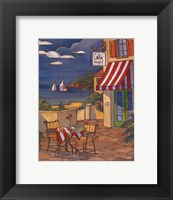 Cafe Cheri - Mini Framed Print