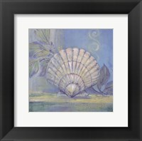 Tranquil Seashells IV - Mini Framed Print