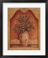 Sienna Fruit I Framed Print