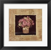 Framed Vintage Rose Pink - Special