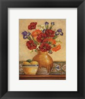 Salsa Poppies - Mini Framed Print