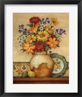 Salsa Lilies Framed Print
