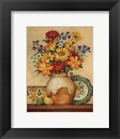 Salsa Lilies - Mini Framed Print