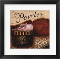 Powder Framed Print