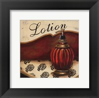 Lotion - Mini Framed Print