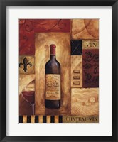 Framed Chateau Vin - Mini