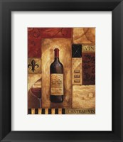 Chateau Vin - Petite Framed Print