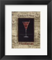 Manhattan - Mini Framed Print