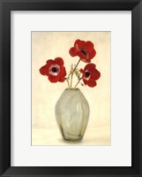 Framed Three Anemones - Special