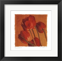 Red Gold II - Mini Framed Print