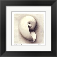 Sea Shapes III - Mini Framed Print