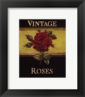 Framed Vintage Roses - Mini