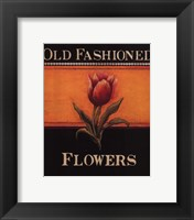 Old Fashioned Flowers - Mini Framed Print