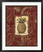 Framed Exotica Pineapple - Grande
