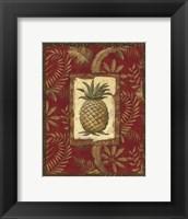 Framed Exotica Pineapple - Mini