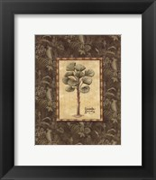 Vintage Palm I - Mini Framed Print