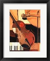 Framed Abstract Violin - Mini