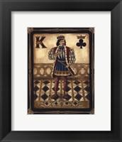 Framed Harlequin King - Mini
