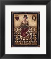 Framed Harlequin Queen - Mini