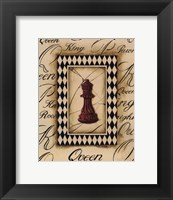 Framed Chess Queen - Mini
