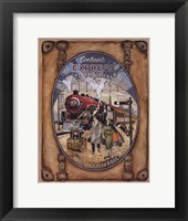 Orient King - Mini Framed Print