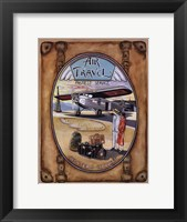 Flight Souvenir - Mini Framed Print