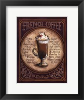 French Coffee - Mini Framed Print