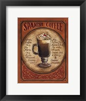 Spanish Coffee - Mini Framed Print